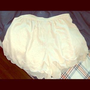 Cute Scalloped shorts!